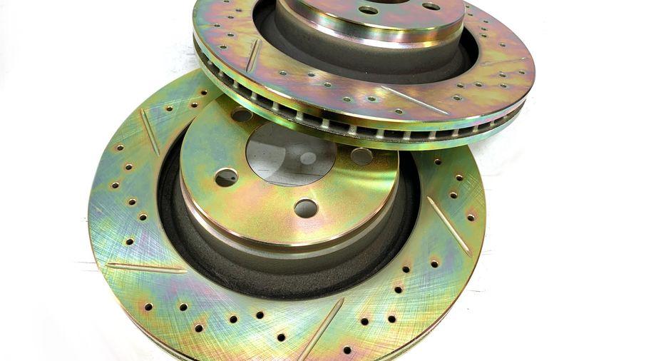 "Front Performance Brake Disc / Rotor (Pair), KK 13.09"" (J1BM47560/4779599AB / JM-05400 / Terrafirma)"