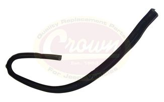 Door Glass Seal (Front Left) (55136025AG / JM-03208 / Crown Automotive)