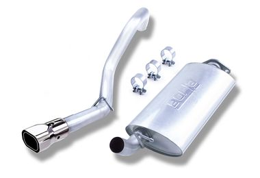 Cat-Back Stainless Exhaust, 00-06 TJ (14924 / JM-02929 / Borla Exhaust)