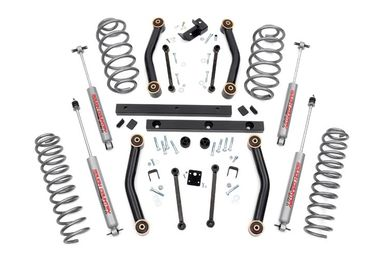 "4"" Suspension Lift, TJ (97-02) (906S / JM-02299 / Rough Country)"
