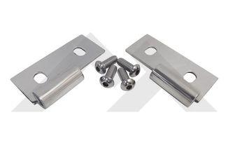 Lower Door Hinge Brackets (Stainless) (RT34007 / JM-03285 / RT Off-Road)