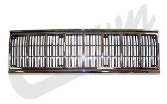 Grille (Chrome/Black) (55034046 / JM-03385 / Crown Automotive)
