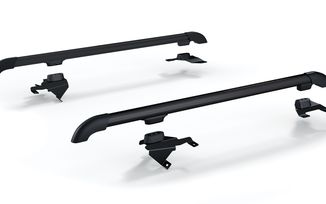 Nebo Roof Rack Main Rail Kit - Black, JK 4 Door (4722010 / JM-04668/LS / TeraFlex)