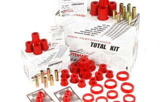 Polyurethane Suspension Bushing Kit, XJ (18350.04 / JM-02492 / Rugged Ridge)