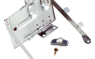 Battery Tray Kit (Stainless) (RT34020 / JM-05512 / RT Off-Road)