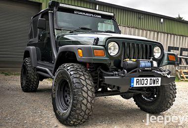 SOLD - Jeep Wranger 4.0L Sport 1997 (R103 DWR)