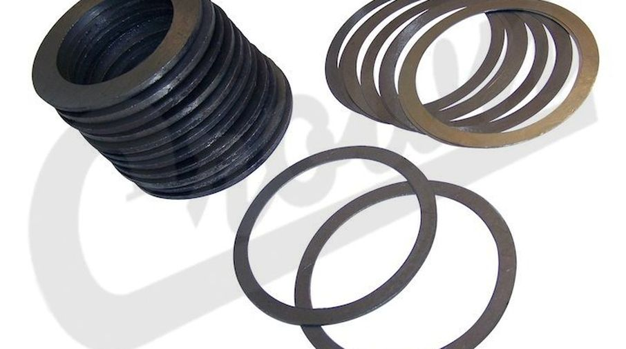 Complete Pinion and Carrier Shim Set (5017214AA / JM-02613/OS / Crown Automotive)