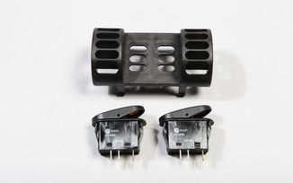 Heater vent switch pod kit, TJ (17235.80 / JM-02533 / Rugged Ridge)