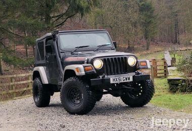 Jeep Wranger 4.0L Sport 2001 (HX51 GWW)