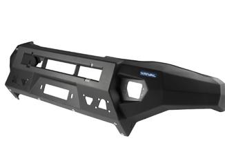 Aluminium Front Bumper, Rival, Hilux (2D.5701.1.B-NL / SC-00144 / Rival 4x4)