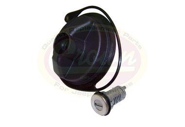 Gas Cap (Locking - Uncoded Cylinder) (68030940AA / JM-01092 / Crown Automotive)