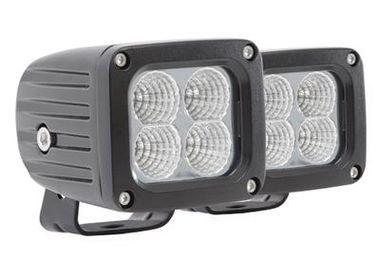 """2"""" x 2"""" LED Square Light Pair, Flood (76404P / JM-02510 / Pro Comp)"""