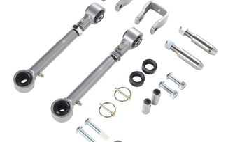 Extreme Duty Sway Bar Disconnects, TJ, XJ, ZJ (Lifted) (RE1131 / JM-04590 / Rubicon Express)