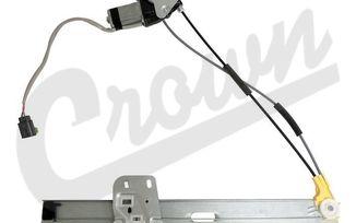 Electric Window Regulator (Front Left) (55154959AI / JM-03112 / Crown Automotive)