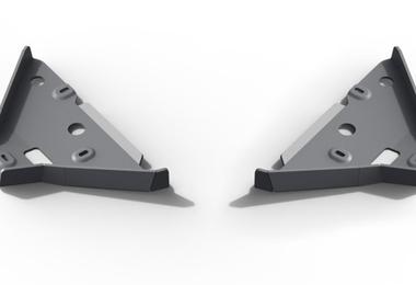 Control Arm Skid Plates, Ranger (2333.1863.1.6 / SC-00104 / Rival 4x4)