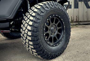 1450 Series Wheel, Black 17x8.5 (ET12) (1450.30 / JM-01222 / DuraTrail)