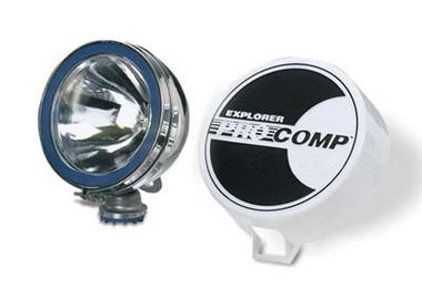 "6"" Chrome 100 Watt Halogen Lamp (9003 / JM-02512 / Pro Comp)"