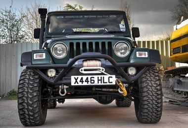 Front Rock Crawler Recovery Bumper Grille Guard (RC003 / JM-00530 / RT Off-Road)