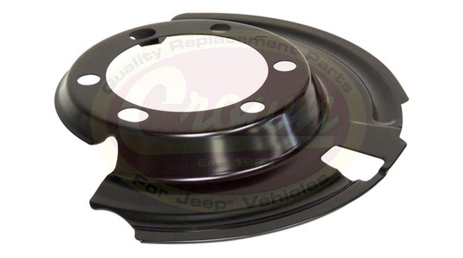 Brake Dust Shield (Front Left) (52005477 / JM-01171 / Crown Automotive)
