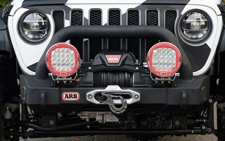 Front Recovery Bumper, ARB Stubby, JL, JT (3450450 / JM-05607 / ARB)