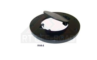 Fuel Door (Non-Locking; Black), JK (RT26053 / JM-01585 / RT Off-Road)