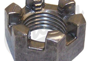 Slotted Nut (J0274428 / JM-01870 / Crown Automotive)