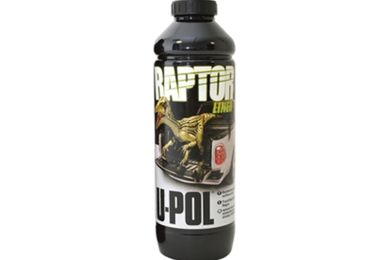 Raptor Paint, Black (DA6383 / JM-02921 / U-POL)