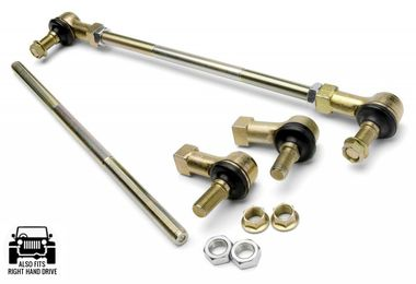 Adjustable Sway-Bar Links, F&R, JK (2943 / JM-02628 / JKS Manufacturing)