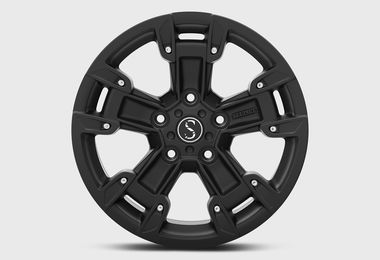FK2, Satin Black, 17x8 (ET33), JL (JM-05048 / Sterling Automotive Design)