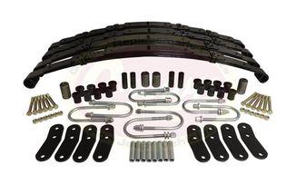 Leaf Spring Kit, Front, Rear (LSK4 / JM-00681 / Crown Automotive)