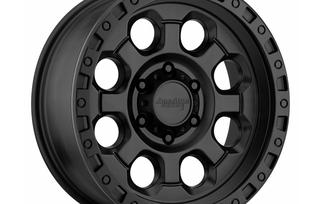 AR201, Black, 16x8 (ET00) Jimny (5x139.7) (AR20168055700 / SC-00094 / American Racing)