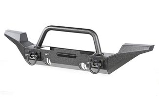 Front Recovery XHD Bumper Kit, Over Rider/High Clearance (11540.52 / TF4010 / JM-04102 / Rugged Ridge)