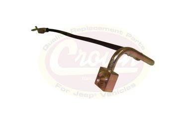 Brake Hose (Front Left), WK & XK (52089258AC / JM-01651 / Crown Automotive)