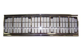 Grille (Chrome/Black) (55034046 / JM-04971 / Crown Automotive)