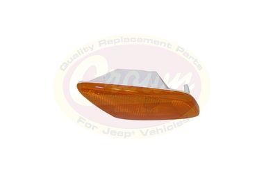 Amber Sidemarker Lamp (Left) (55155629AB / JM-00175 / Crown Automotive)