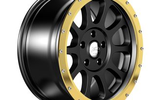 "18"" WR10 Gold Anodized Wheel Ring (1458.52 / JM-04554 / DuraTrail)"