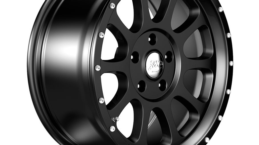 1450 Series Wheel, Black 18x8.5 (ET32), JL (1450.10 / JM-04547 / DuraTrail)