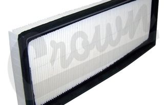 Air Filter (2.5L, 4.0L) (53002184 / JM-02684 / Crown Automotive)