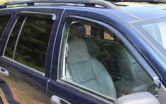 Window Rain Deflectors, WJ (11351.22 / JM-03186 / Rugged Ridge)