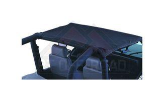 Beach Toppers (Black) YJ (BT30015 / JM-01554 / Crown Automotive)