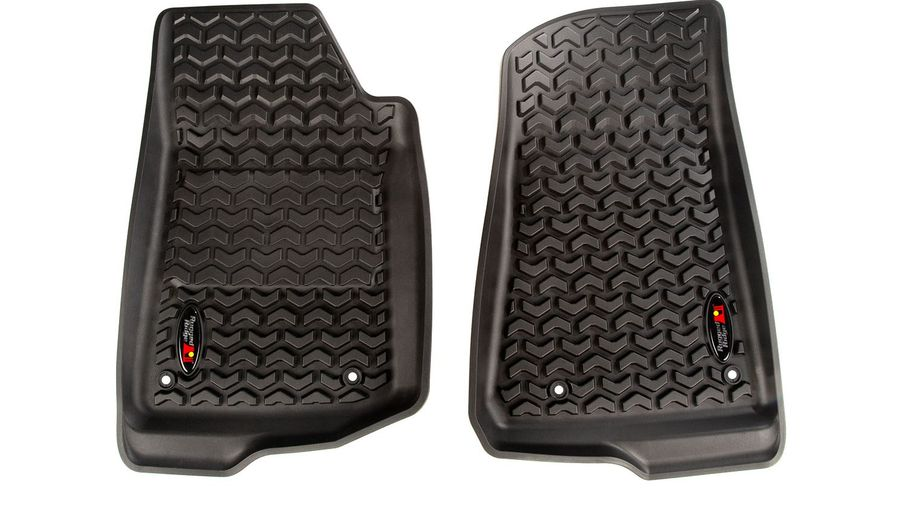 All Terrain Floor Liner, Front Pair, JL (12920.36 / JM-03919/LS / Rugged Ridge)