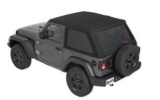 Trektop NX, Jeep JL 2 Door, Black Twill (56862-17 / JM-03873 / Bestop)