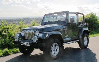 SOLD - Jeep Wranger 4.0L Sahara 2002 (WK02 VZF)