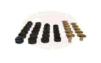 Body Mount Kit, TJ (55176180K / JM-02580 / Crown Automotive)