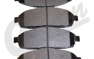Disc Brake Pad Set (Front) WK & XK (5080868AA / JM-00440 / Crown Automotive)