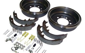 Drum Brake Service Kit (Rear) (52002952K / JM-03936 / Crown Automotive)