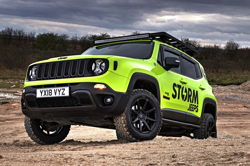 STORM-29, 2018 Jeep Renegade Trailhawk