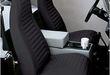 Front Seat Covers, CJ + YJ (76-91) (29227-15 / JM-04849 / Bestop)