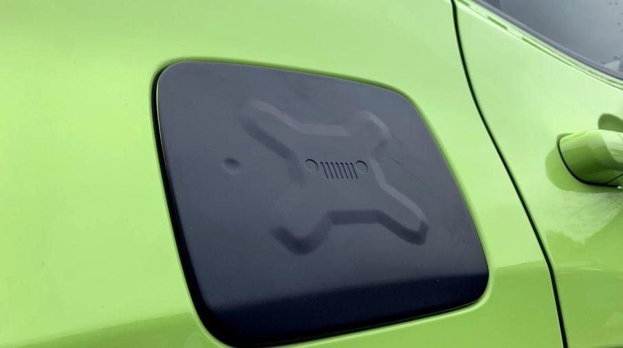 Fuel Flap Cover, Renegade (TF4260 / JM-04457 / Terrafirma)