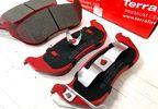 Rear Ceramic Brake Pad Set, KJ (UDB1660TF / 5083882 / JM-05397 / Terrafirma)
